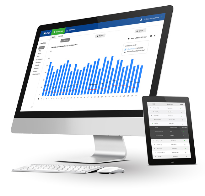 eportal - energy monitoring software